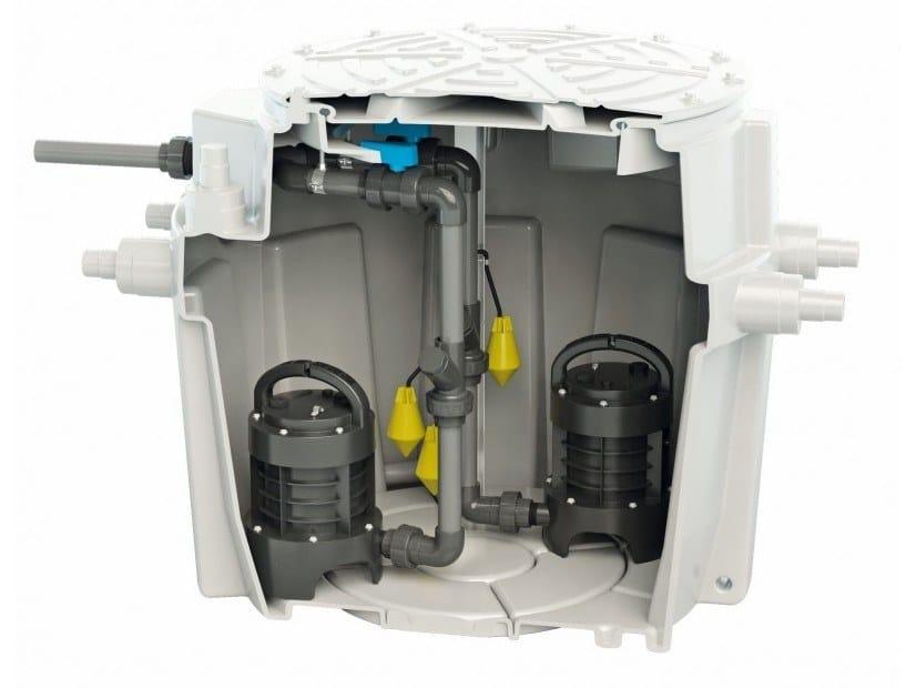 Grey water unit SANIFOS 500 by Sanitrit