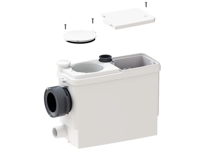 Built-in waste macerator for toilets SANIPACK PRO UP by Sanitrit