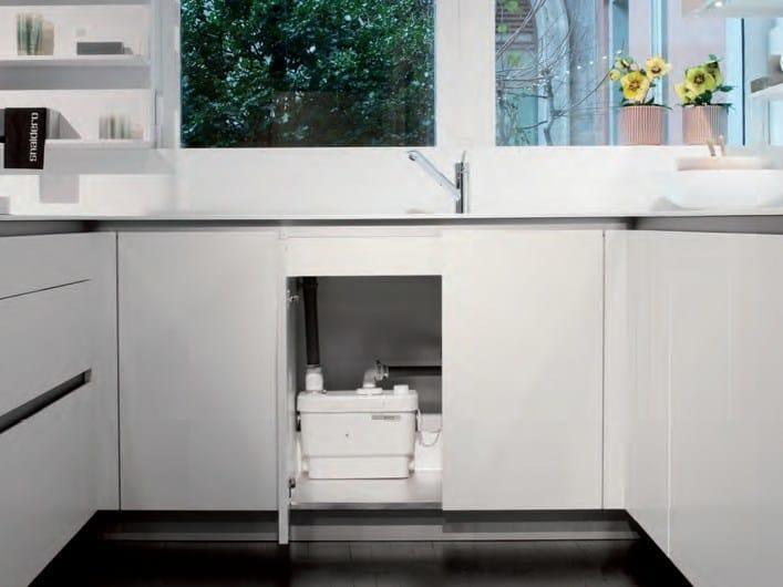 Pompa Per Scarico Lavello Cucina.Pompa Domestica Per Acque Chiare Sanivite Plus Sanitrit