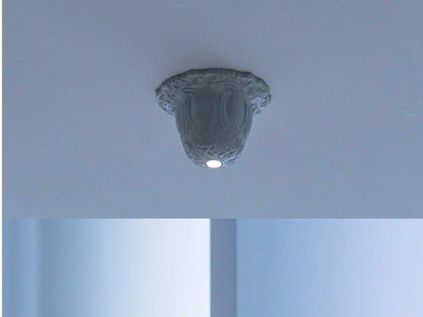 LED brass ceiling lamp SANMARTINO by DAVIDE GROPPI