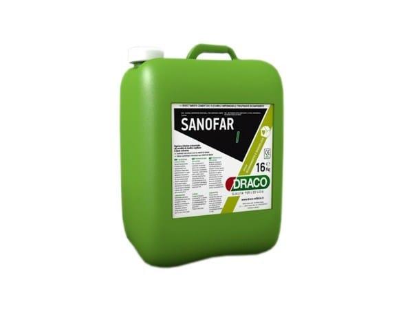 Chemical barrier anti-humidity system SANOFAR I by DRACO ITALIANA