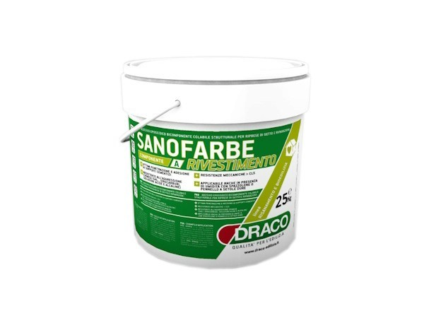 Protection for plasters SANOFARBE COAT by DRACO ITALIANA