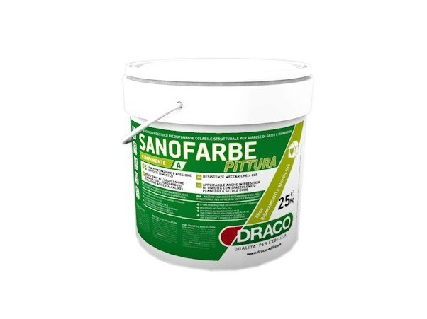 Water repellent water-based paint SANOFARBE PAINT by DRACO ITALIANA