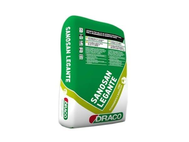 Dehumidifying plaster SANOSAN BOND AGENT by DRACO ITALIANA