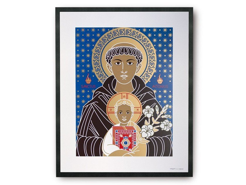 Coated paper Print on paper SAINT ANTONIO | Print on paper by TuttiSanti