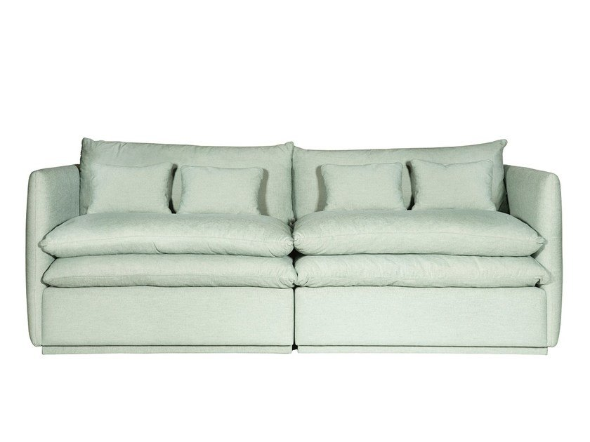 Contemporary style upholstered fabric sofa SANTA CATARINA by Branco sobre Branco