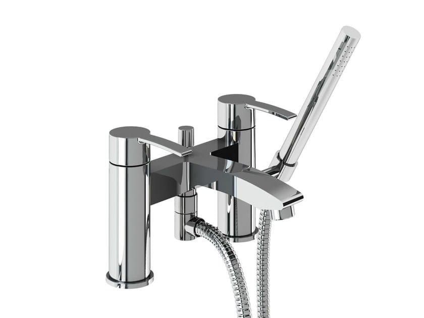 2 hole bathtub mixer with hand shower SAPPHIRE | Bathtub mixer with hand shower by Polo