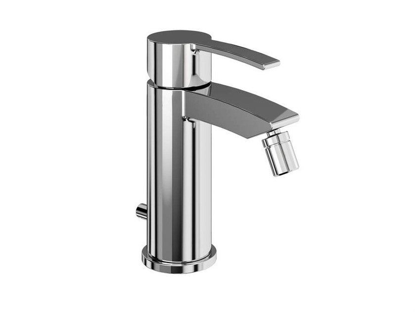 Bidet mixer with swivel spout with automatic pop-up waste SAPPHIRE | Bidet mixer by Polo