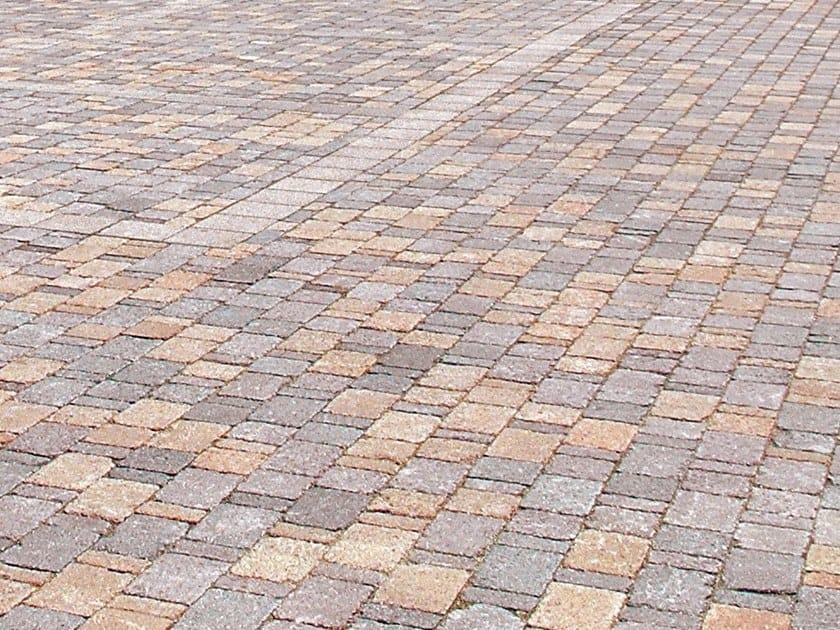 Concrete paving block SASSI COMP by RECORD - BAGATTINI