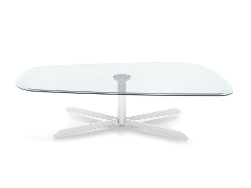 Glass coffee table for living room SASSI | Coffee table by Calligaris