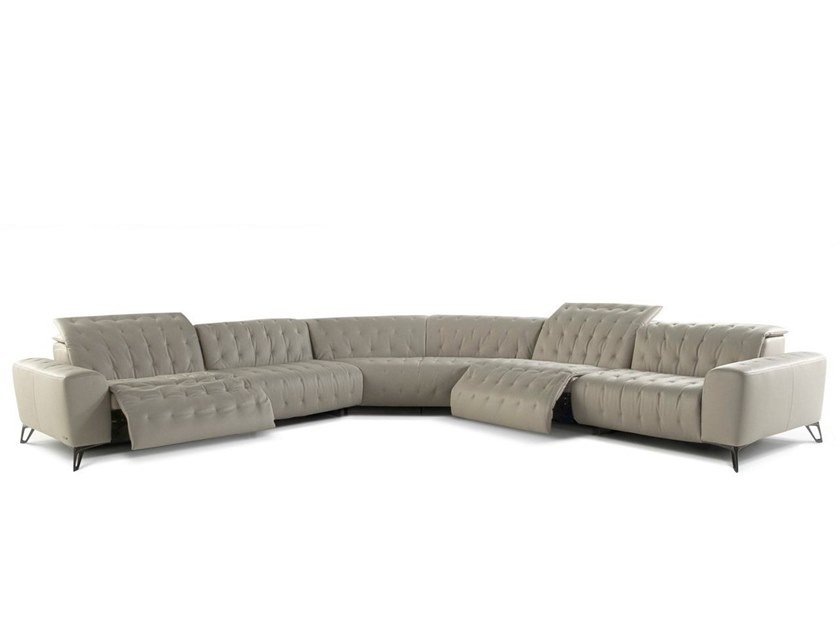 Awe Inspiring Corner Sectional Leather Sofa Satellite 2 By Roche Bobois Ocoug Best Dining Table And Chair Ideas Images Ocougorg