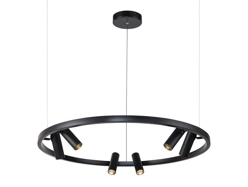 LED metal pendant lamp SATELLITE by MAYTONI