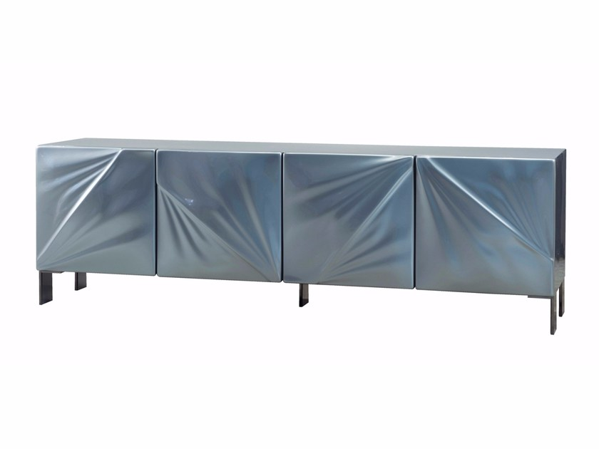 Daquacryl® sideboard with doors SATIN | Sideboard by ROCHE BOBOIS