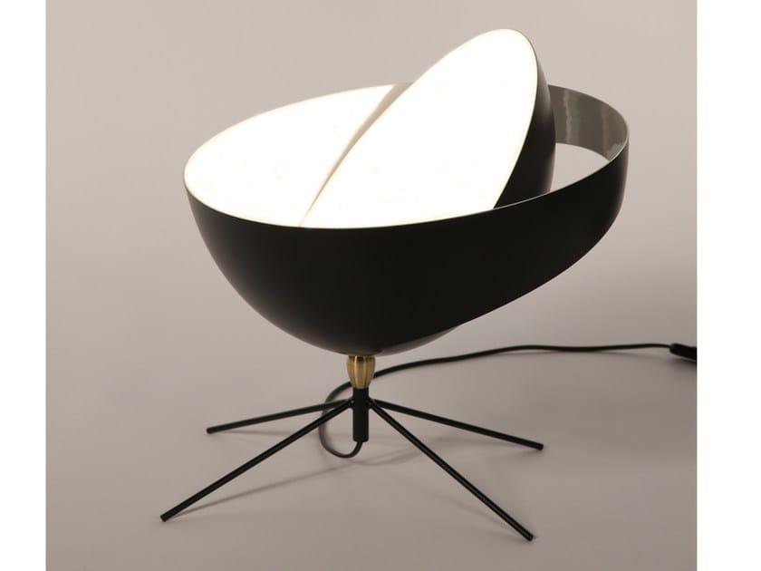 Adjustable metal desk lamp SATURNE by Serge Mouille
