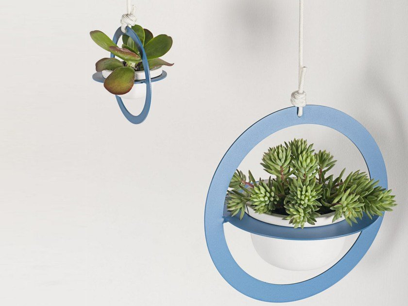 Hanging plant pot SATURNO by FORMAE
