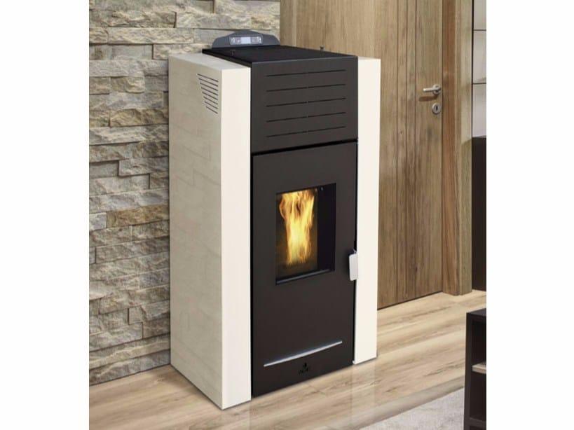 Pellet Heating stove SATURNO IDRO PELLET by Fintek