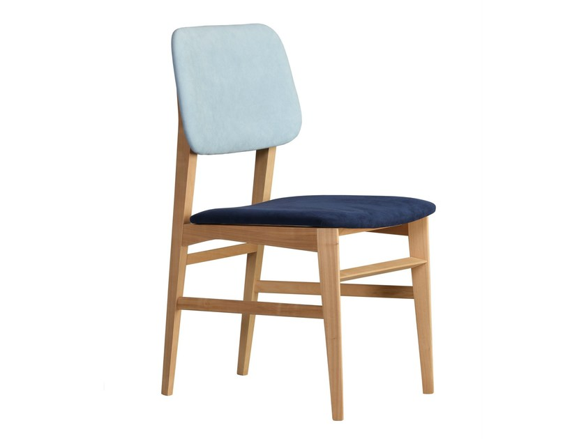Upholstered fabric chair SAVINA | Upholstered chair by Morelato