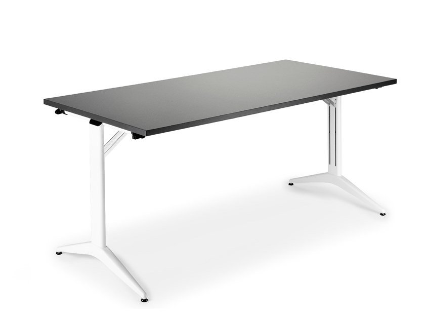 Folding rectangular table SAVIO FOLDING by Mara