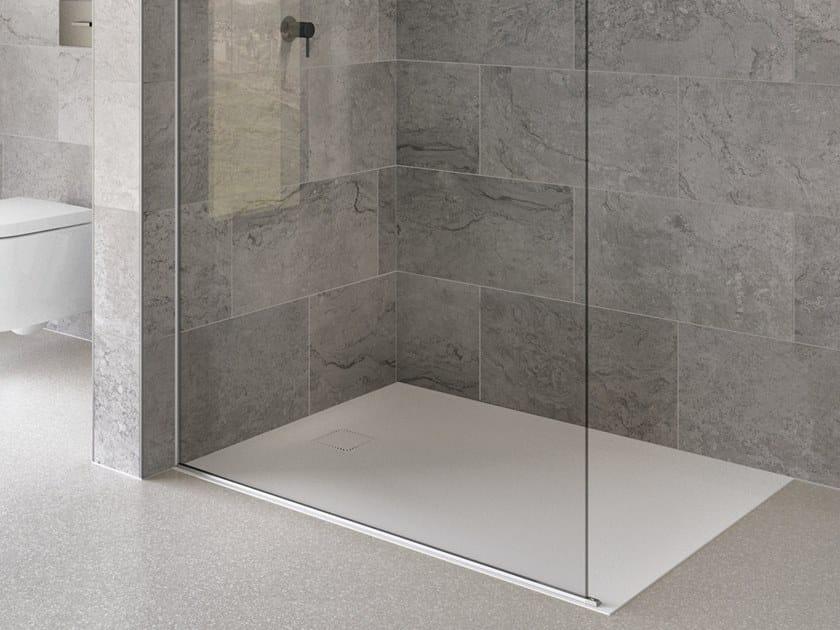 Flush fitting shower tray SAVONA by DUSCHOLUX
