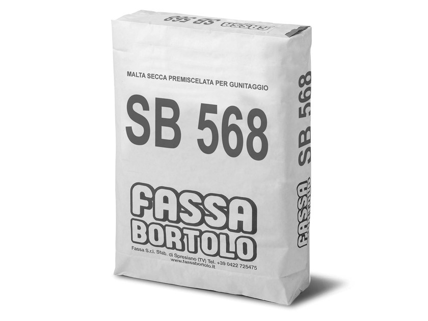 Mortar and grout for renovation SB 568 by FASSA