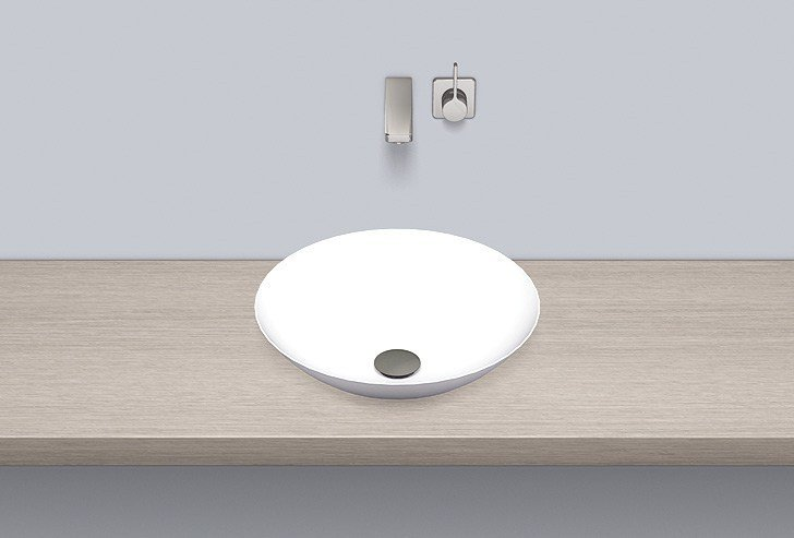 Dish basin from glazed steel SB.K450.GS by Alape