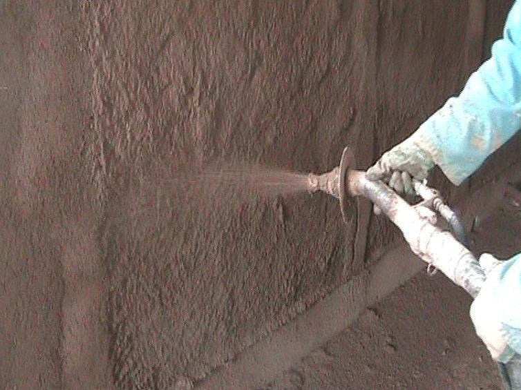 Natural plaster for sustainable building SB2 by Terragena