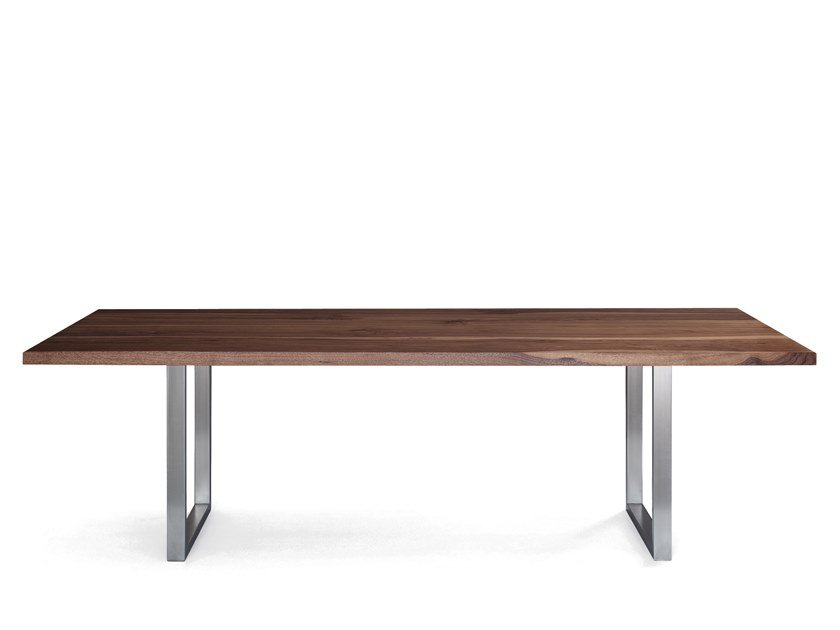 Rectangular solid wood table SC 25 | Wooden table by JANUA