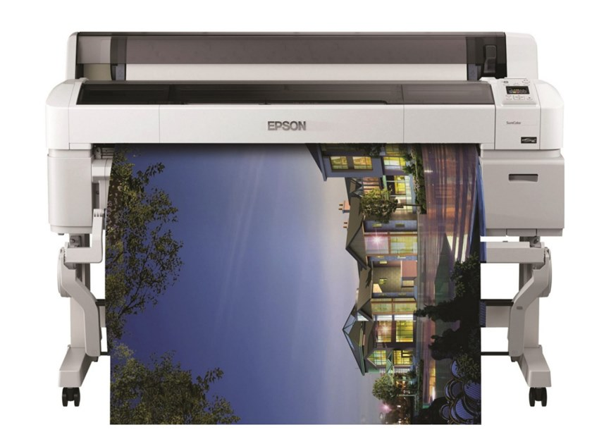 Large format printer for graphics, CAD and GIS SureColor SC-T7200D MFP by EPSON ITALIA