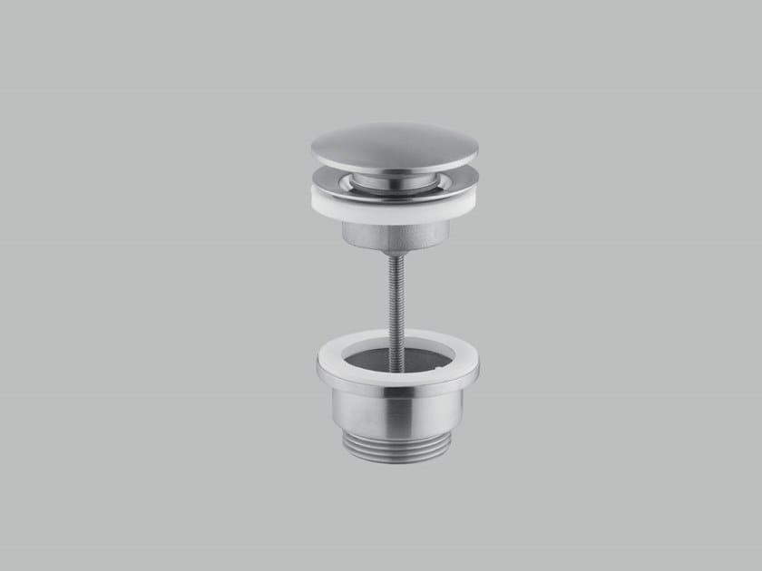 Piletta in acciaio inox per bidet per lavabo SC016 | Piletta by Quadrodesign