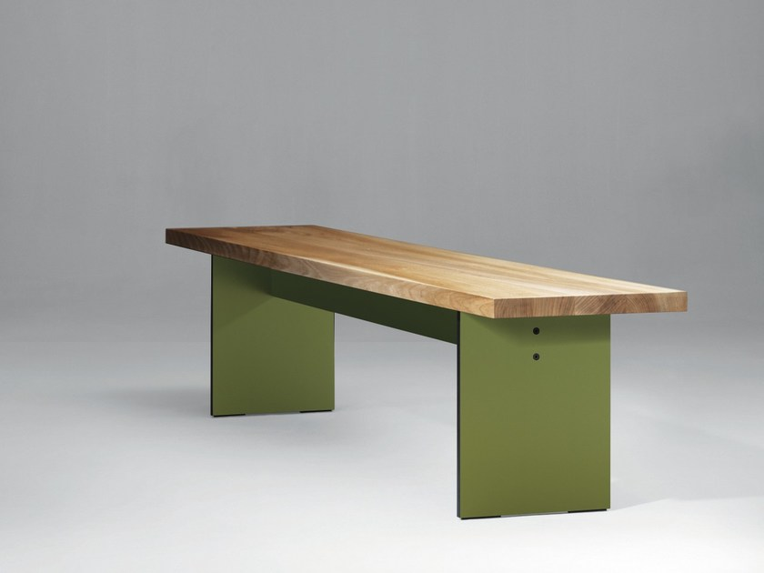 Wooden bench SC43 | Wooden bench by Janua