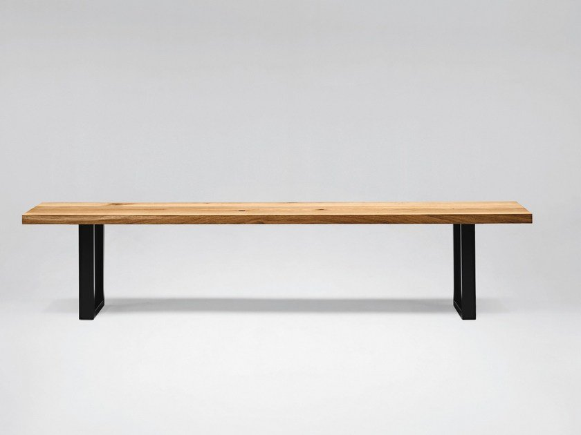 Wooden bench SC44 | Wooden bench by Janua