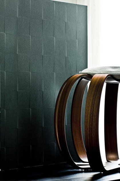 Veneered panel SCACCO MATTO by Cleaf