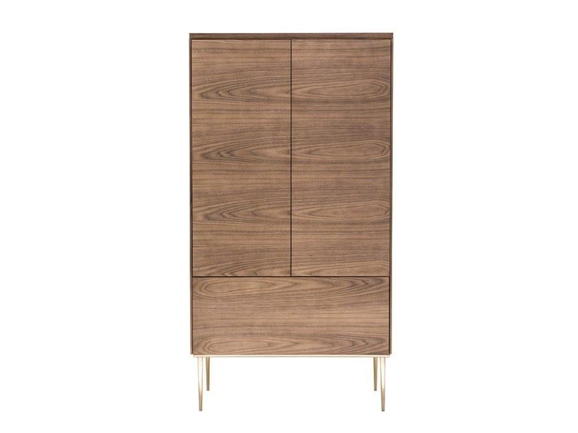 Wooden bar cabinet SCALA | Bar cabinet by HC28