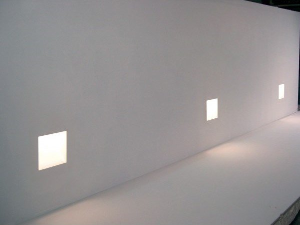 Wall-mounted steplight SCALA by GESSO