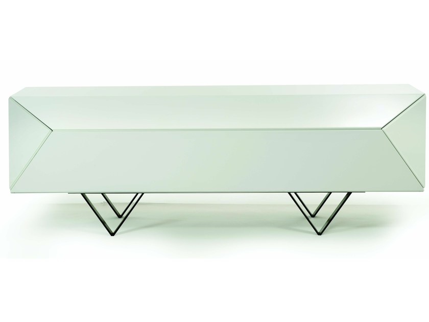 Sideboard with doors SCALENE by ROCHE BOBOIS