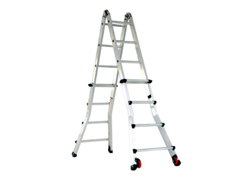 Aluminium heavy duty ladder SCALISSIMA ELITE by SVELT