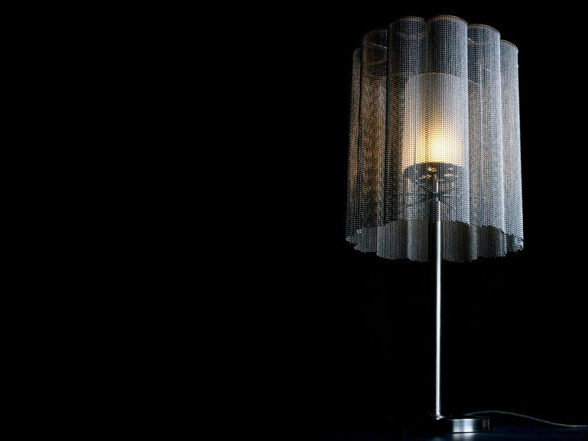 Table lamp SCALLOPED CROPPED | Table lamp by Willowlamp