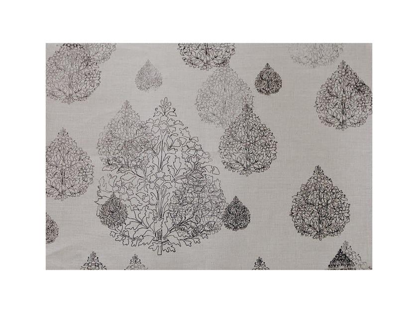 Rectangular linen placemat SCANDI | Placemat by Birgit Morgenstern Studios