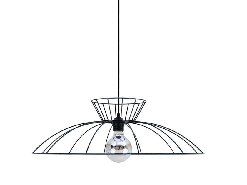 Metal pendant lamp SCARLETT by LUZ EVA