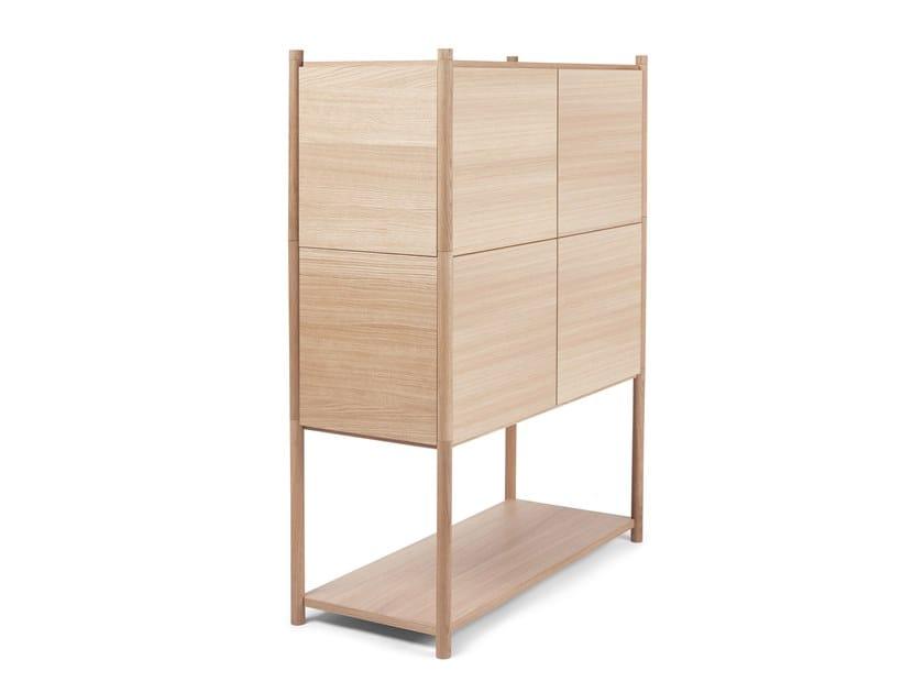 Open modular shelving unit SCEENE E by Gejst