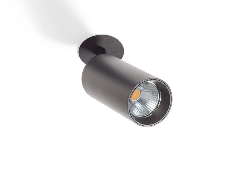 LED adjustable ceiling spotlight SCENIC TUBED by Orbit