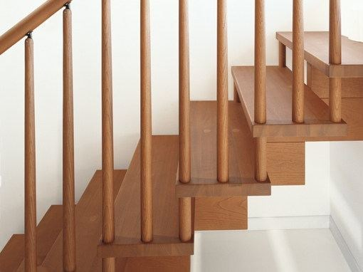 Ash Open staircase SCENIK ONE | Open staircase by Fontanot
