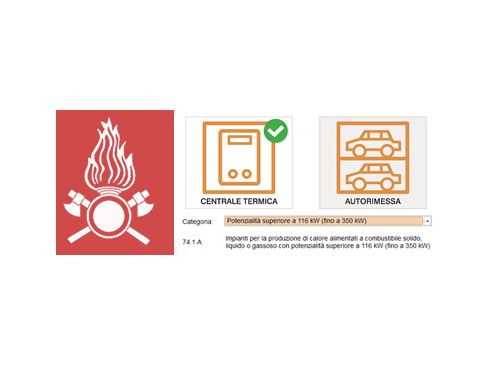 Progettazione impianto antincendio SCHEDULOG ANTINCENDIO by LOGICAL SOFT