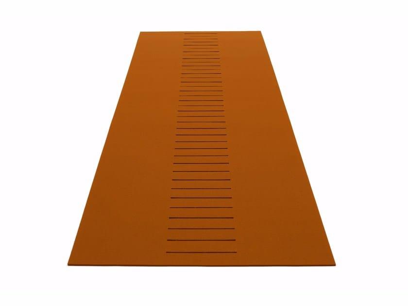 Rectangular rug SCHLITZ by HEY-SIGN