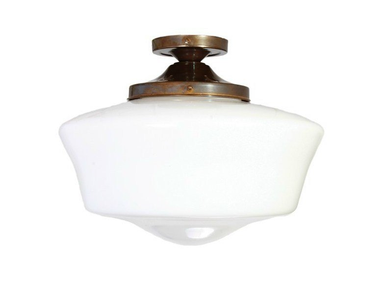 Direct Light Handmade Ceiling Lamp SCHOOLHOUSE CEILING LIGHT FITTING By  Mullan Lighting