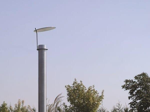 Halogen stainless steel garden lamp post SCOOP FL by BEL-LIGHTING