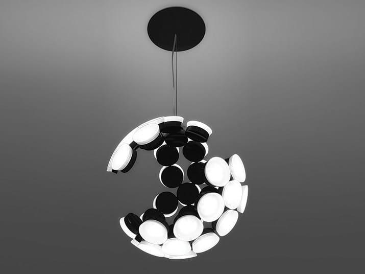 LED aluminium pendant lamp SCOPAS by Artemide