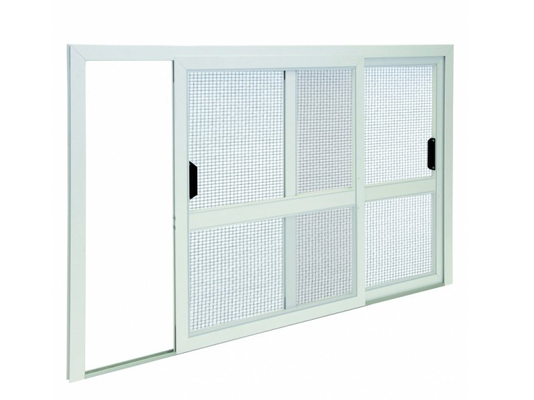 Fixed insect screen SLIDING FLY SCREEN WITHOUT GROUND RAIL 2 by Teknika
