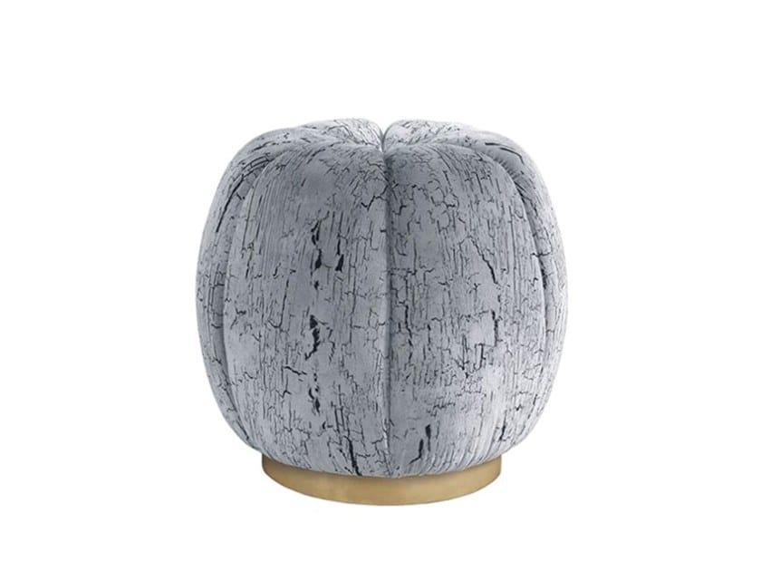 Round fabric pouf SCOTT | Pouf by Jetclass