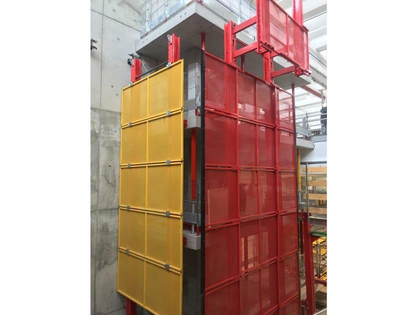 Sistema idraulico di risalita per piani di lavoro SCREEN by Faresin Formwork
